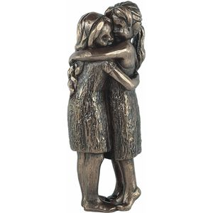 Genesis Bronze Figurine: Love Life - Friendship Forever