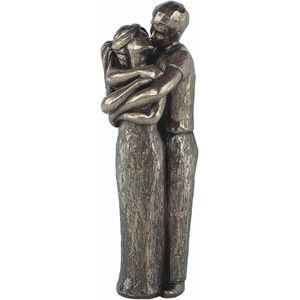 Genesis Bronze Figurine: Love Life - Love a Lot