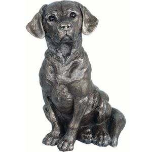 Genesis Cold Cast Bronze Figurine - Mans Best Friend
