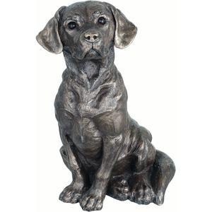 Mans Best Friend Bronze Figurine