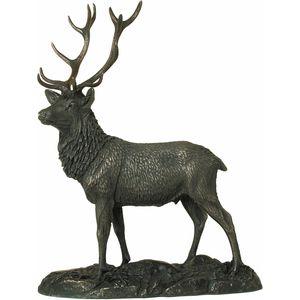 Stag Bronze Figurine