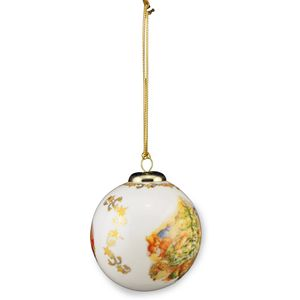 Reutter Porcelain Beatrix Potter Peter Rabbit Christmas Tree Bauble