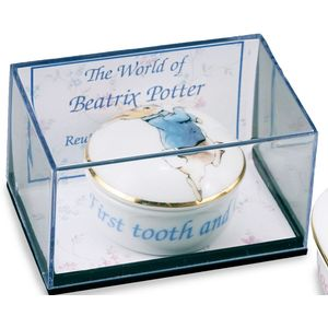 Beatrix Potter Peter Rabbit 1st Tooth & Curl Box