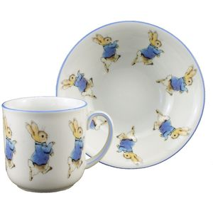 Beatrix Potter Peter Rabbit 2 Piece Breakfast Set