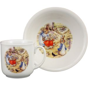 Beatrix Potter Breakfast Set ( 2 pces)