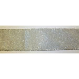 """Gift Wrapping - Ribbon Gold Shimmer Glitter 2.5"""" x 10Y"""