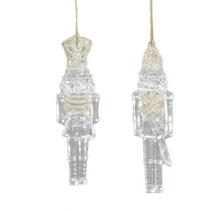 Set of 2 Soldiers Christmas Tree Decorations