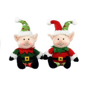 Set of 2 Plush Christmas Elves