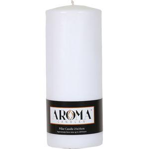 Aroma Pillar Candle 25cm x 10cm (White)