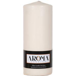 Aroma Pillar Candle 25cm x 10cm (Ivory)