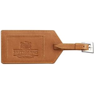 Luggage Tag Tan Leather