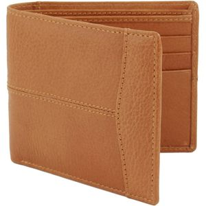 British Bag Company Leather Wallet - Tan