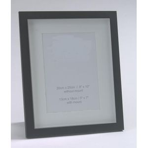 "Matt Black Photo Frame 5"" X 7"""