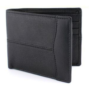 British Bag Company Leather Wallet - Black