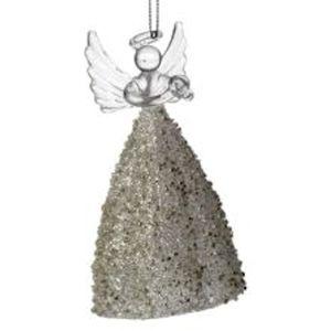Christmas Glass Angel Tree Hanging Ornament