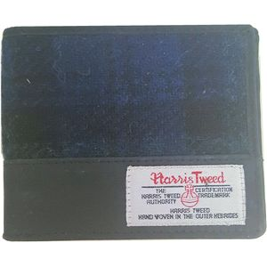 Harris Tweed Wallet: Bragar Black Watch Tartan