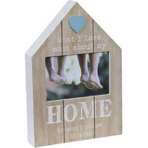 Home Wooden Photo Frame 6x4""