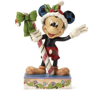 Disney Traditions Sweet Greetings (Mickey Mouse) Christmas Figurine