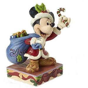 Disney Traditions Bringing Holiday Cheer (Mickey Mouse) Figurine