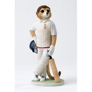 Country Artists Magnificent Meerkats Figurine - Howzat Meerkat