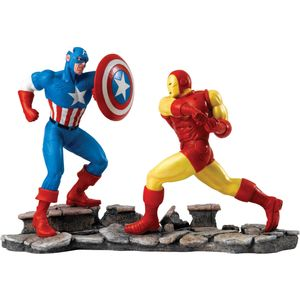 Marvel Captain America Vs Iron Man Figurine