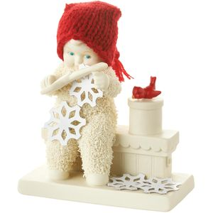 Snowbabies Figurine - Making Snow