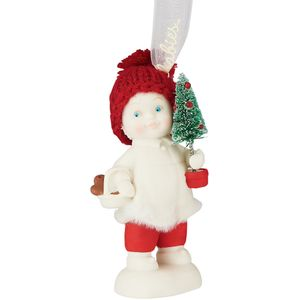 Snowbabies Toting the Tree Hanging Ornament