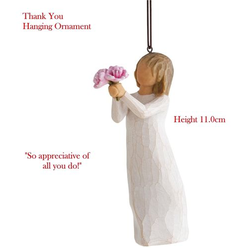 Willow Tree Thank You Hanging Ornament 27574