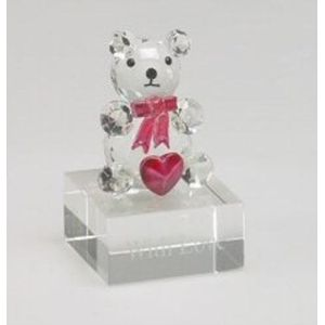 Be Mine Crystal Teddy Bear