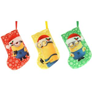 Minion Mini Hanging Stockings 3 assorted