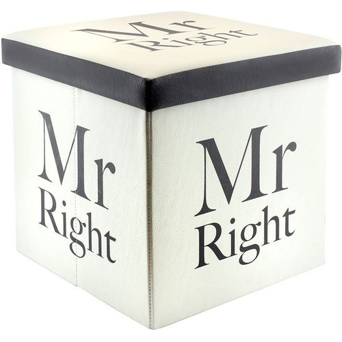 Fold Up Storage Box - Mr Right
