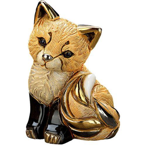 De Rosa Baby Red Fox Cub Figurine F399