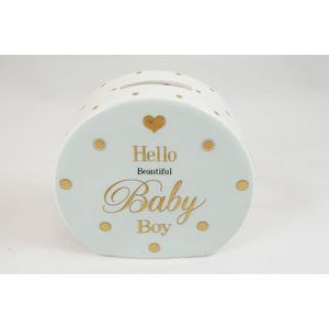 Mad Dots Money Box - Baby Boy