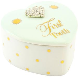 Mad Dots First Tooth Trinket Box - Baby Boy