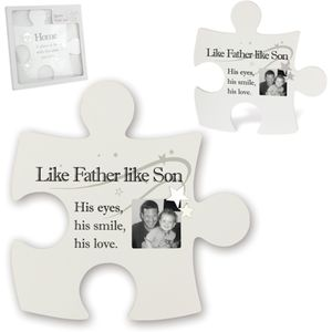 Said with Sentiment Jigsaw Wall Art - Like Father Like Son