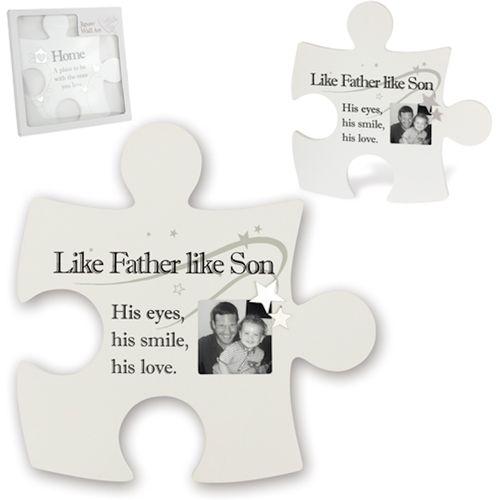 Said with Sentiment Jigsaw Wall Art: Like Father Like Son