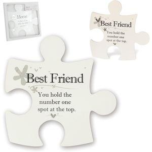 Said with Sentiment Jigsaw wall Art - Best Friend