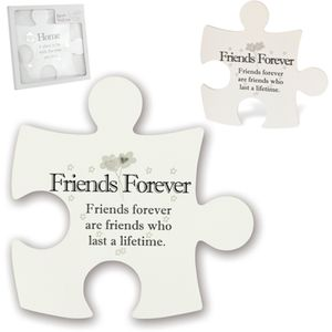 Said with Sentiment Jigsaw Wall Art - Friends Forever