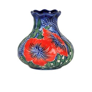 "Old Tupton Ware Hibiscus Collection - 3"" Vase"