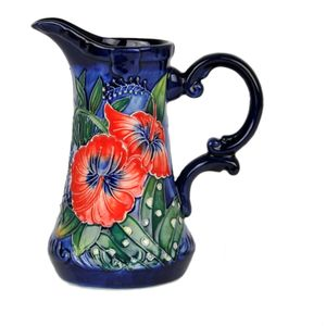 "Old Tupton Ware Hibiscus Collection - Jug (6"")"