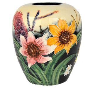 "Old Tupton Ware Summer Bouquet 6"" Vase"