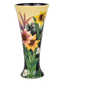 """Old Tupton Ware Summer Bouquet Collection - 8"""" Vase"""