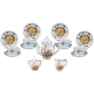 Reutter Porcelain Beatrix Potter Peter Rabbit 150th Anniversary Tea Set LTD ED