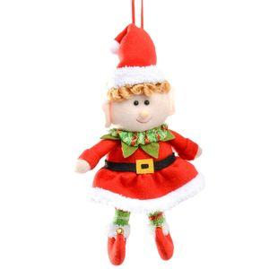 Christmas Tree Hanging Decoration - Elf Girl
