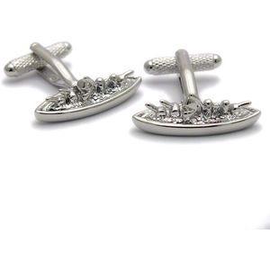 Battle Ship Cufflinks
