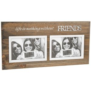 Friends Double Photo Frame
