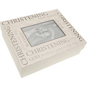 Christening Keepsake Box - Script Design