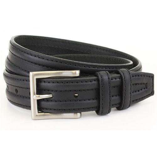 Black Luxury Full Grain Leather Gents Belt Size Small