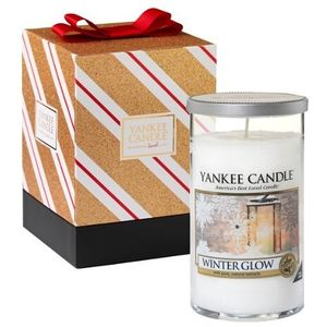 Yankee Candle Winter Glow Pillar Dcor in Gift Box