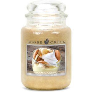 Goose Creek Large Jar Candle - Banana Pudding